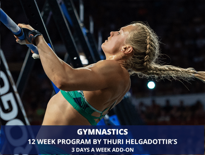 Gymnastics Program by Thuri Helgadottir