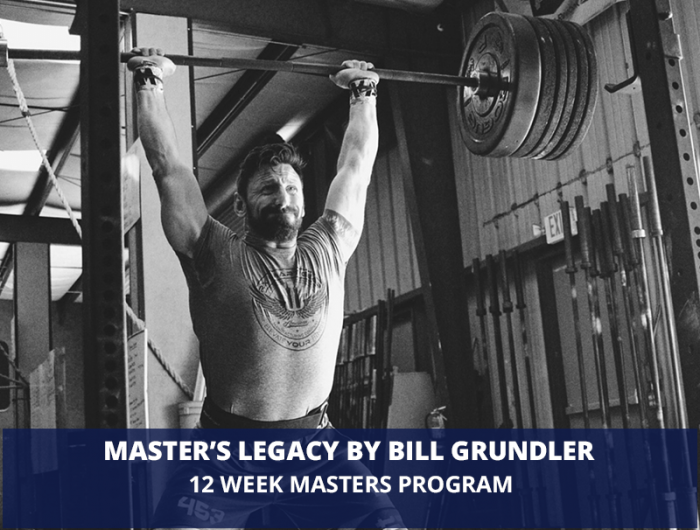 Masters' Legacy by Bill Grundler