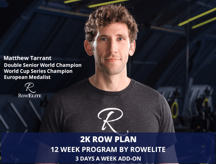 2K Row Plan by RowElite