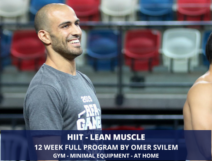 HIIT - Lean Muscle